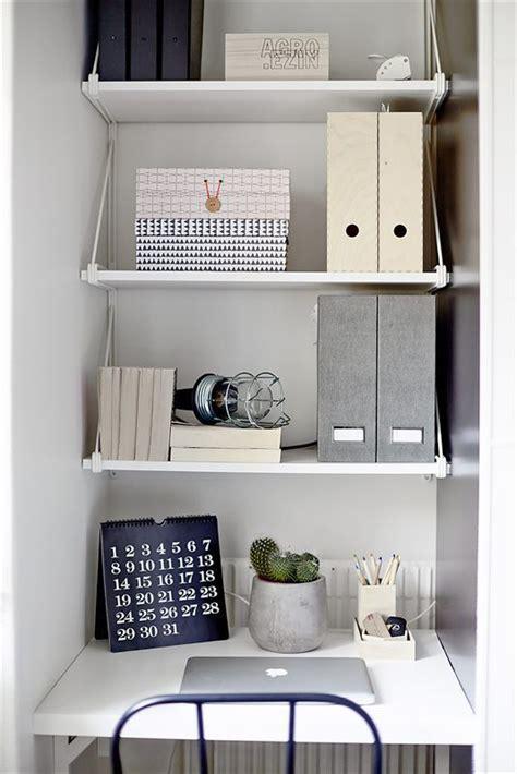 idee bureau pour petit espace 1000 idées sur le thème organisation de petit espace sur