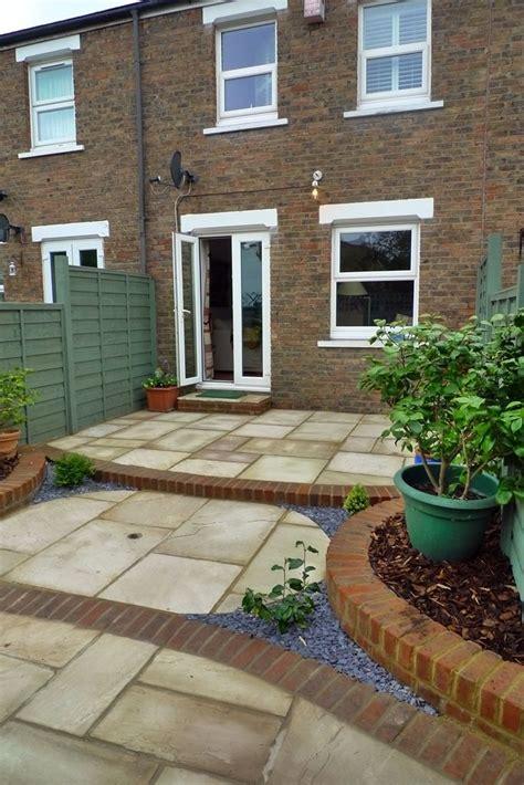 Back Garden Patio by Gardens Exciting Small Yard Design Low Maintenance Garden