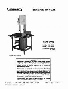 Hobart Kitchen Utensil 5801 User Guide