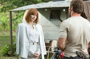 lead actress jurassic world jurassic world brochure gives dinosaur clues and map of