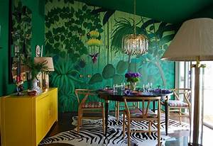 Tropical, Green, Rooms, Decorating, Ideas, For, Summer