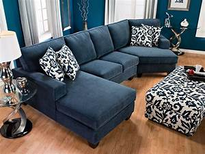 Living room furniture designed2b dax 3 piece chenille for Sectional sofas the brick