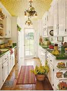 Pretty Bright Small Kitchen Color For Apartment Small Apartment Galley Kitchen Galley Kitchen Designs 1