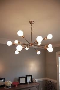 Light Und Living : mid century sputnik inspired chandelier mid century and chandeliers ~ Eleganceandgraceweddings.com Haus und Dekorationen