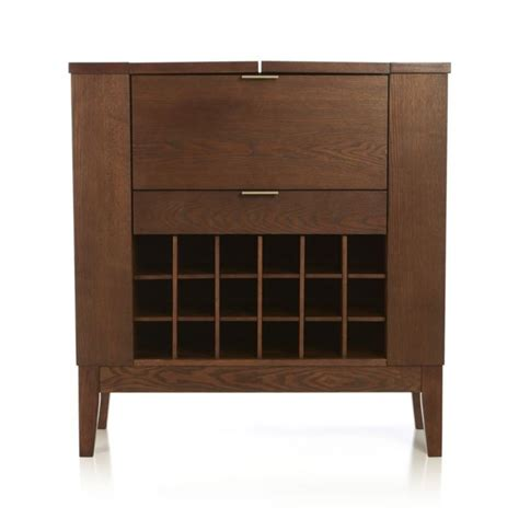 crate and barrel bourne bar cabinet spirits bourbon cabinet crate and barrel liquor