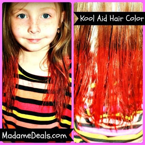 Kool Aid Hair Dye Recipe Real Advice Gal