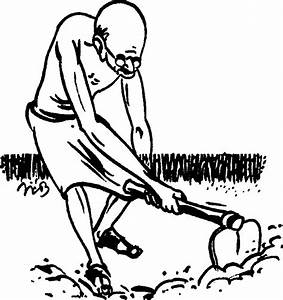 Indian Farmers Drawing