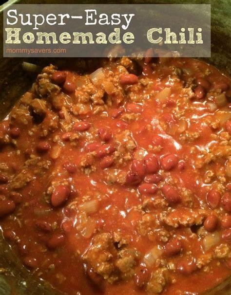 easy chili recipe easy chili recipe dishmaps