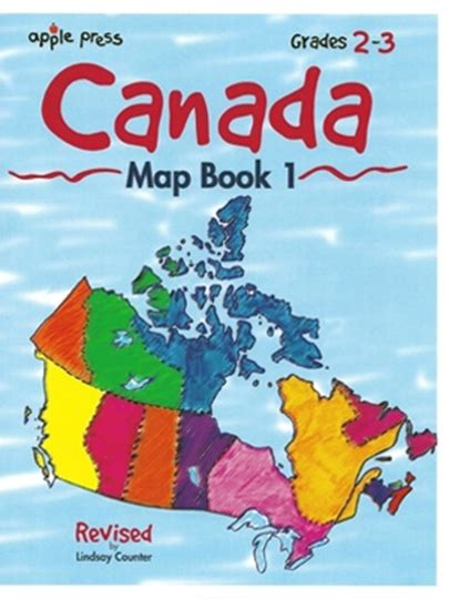 canadian home education resources canada map book