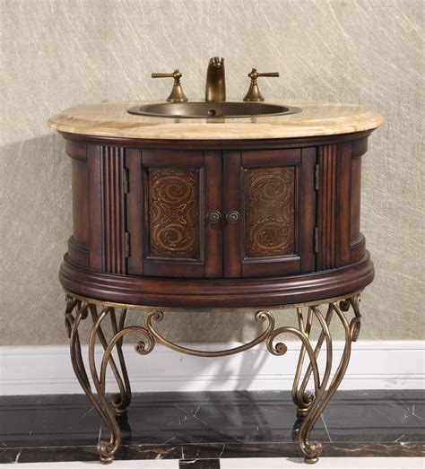 Your Bathroom With An Antique Vanity  Bathroom Vanity Styles