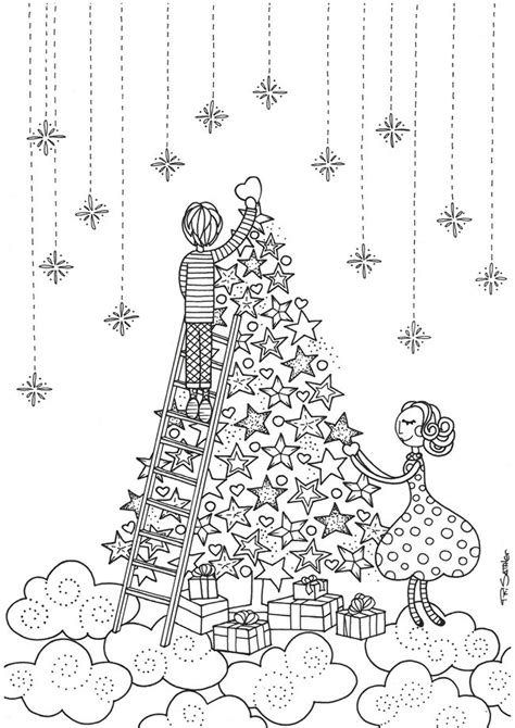 difficult christmas coloring pages  adults  getcoloringscom  printable colorings