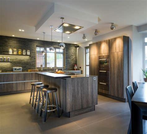 idées cuisine focus sur la cuisine chalet moderne
