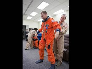 NASA - Commander Suit Check