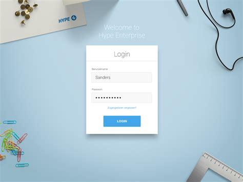 25 login form designs for inspiration azmind