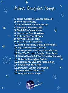 The Best Father-Daughter Dance Songs - The One Bride Guide