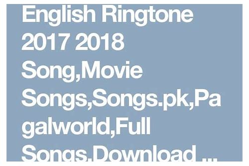 ringtone free download mp3 2017