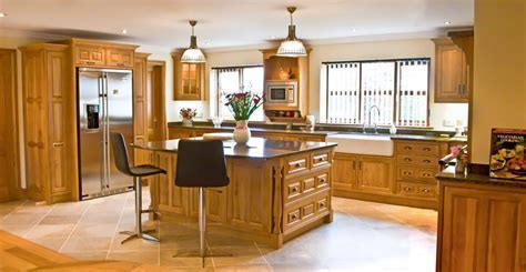 Oak Kitchens designed and made in Wales for the whole UK