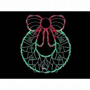 Northlight, 16, In, Led, Lighted, Wreath, Christmas, Window, Silhouette, Decoration-32605990