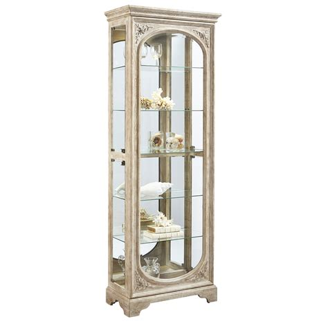 pulaski furniture curio cabinet pulaski julian curio cabinet reviews wayfair supply