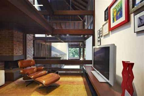 Home Interior 80s :  Harmonious Interior Houses A Modern Natural