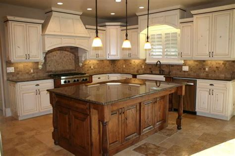 French Country Kitchen Island Table  Video And Photos