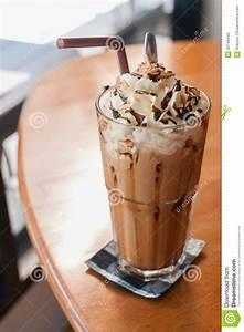 Iced Coffee stock image. Image of milk, mocha, chocolate ...