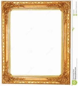 Bilder Ohne Rahmen : alter antiker goldener rahmen lokalisiert auf wei em hintergrund stockbild bild von verzierung ~ Indierocktalk.com Haus und Dekorationen