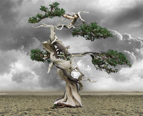 surrealistisches bild mit photoshop