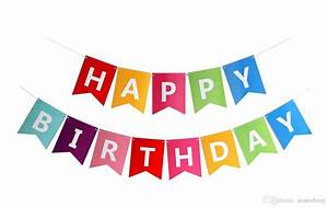 Best Paper Bunting Garland Banners Flags Happy Birthday