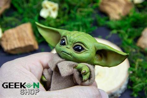 Baby Yoda Figurine READ DESCRIPTION inspired by Jedi ...