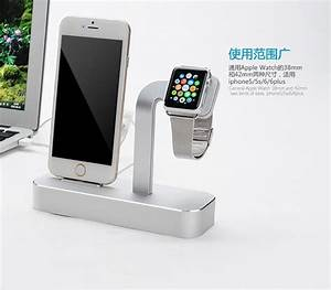 Iphone 6s Ladestation : 2 in 1 aluminium for apple watch desktop stand holder charging dock charger station for iphone 6 ~ Orissabook.com Haus und Dekorationen