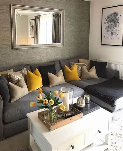 Living Schemes Grey Apartment Farmhouse Accents Cozy