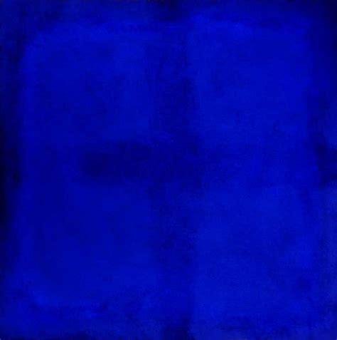 In Blau by Blau Farbfeldmalerei Stanko Kunst Heilen