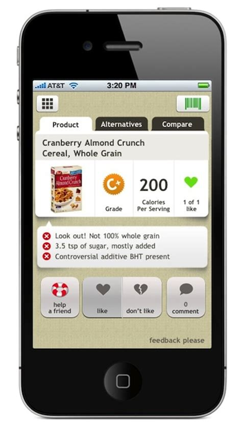 free food apps for iphone check out the new fooducate iphone app fooducate