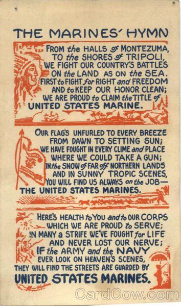 marines hymn