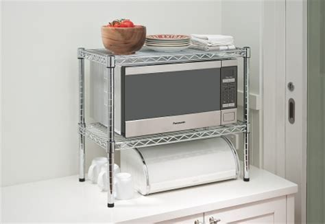 Howards Storage World   Easy Build Microwave Bench Stand Kit