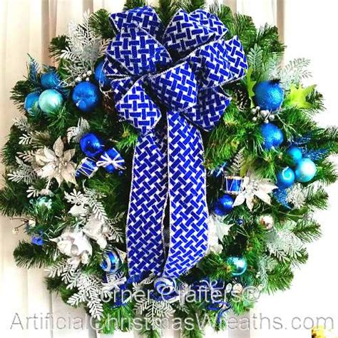 hanukkah wreath artificialchristmaswreathscom
