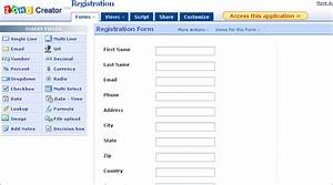 earthgrid do it yourself website creation system zoho With zoho creator templates