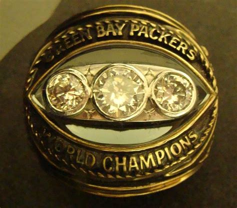 Green Bay Packers Super Bowl Rings