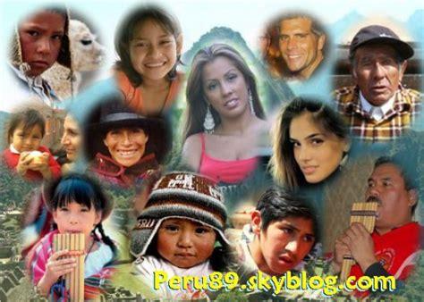 demografia peruana etnografia del peru