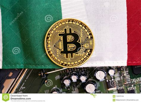 Check out the most active national currencies, used to be exchanged for bitcoin. Bitcoin Cryptocurrency Coin With Flag Stock Photo - Image of italian, currency: 122370164