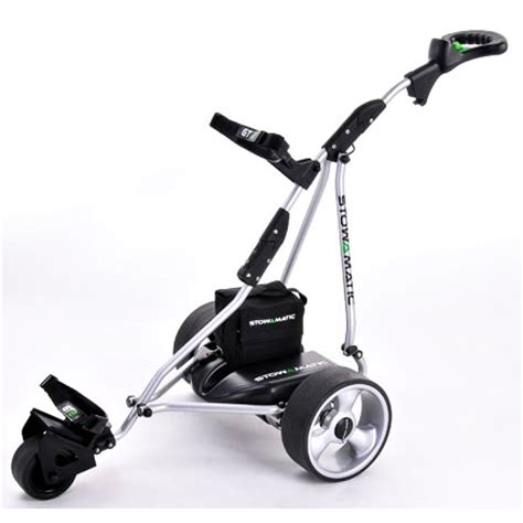 stowamatic gt2 electric golf trolley the sports hq