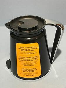 Get the most out of your brewer by shopping pods, accessories, and maintenance. Keurig 2.0 Coffee Maker Replacement Carafe Black   eBay