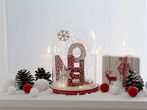 Cloche De Verre : une d co de no l dans une cloche en verre joli place ~ Teatrodelosmanantiales.com Idées de Décoration