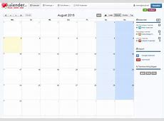 Informations zum Online TermineKalender Kalendercom