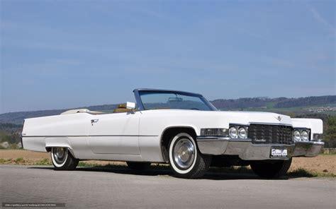 Download wallpaper Cadillac, de Ville, Cabriolet, white ...