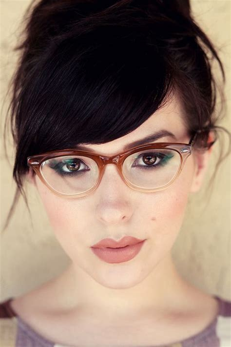 1000 Ideas About Bangs And Glasses On Pinterest Bangs