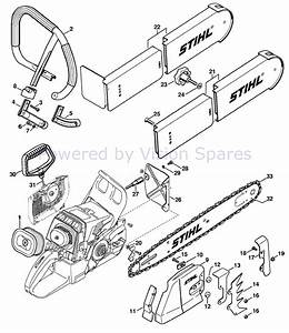 Cd 7834  Diagram Also Stihl 028 Chainsaw Parts Diagram On