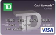 View and manage your credit card and rewards along with other td accounts, right from within tdbank.com. TD Cash Credit Card Review - CreditCards.com