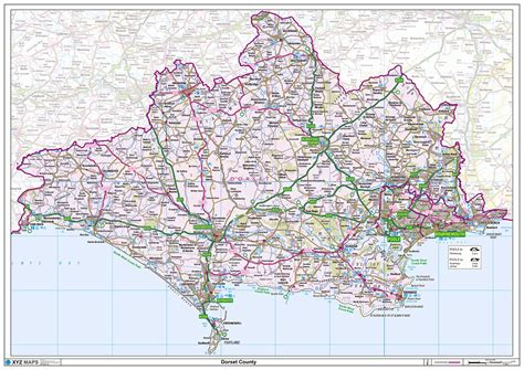 dorset county map xyz maps